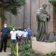 Gregorio X, la statua nel «Giardino del Papa»