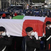 Funerali di Stato per l'ambasciatore Attanasio e il carabiniere Iacovacci